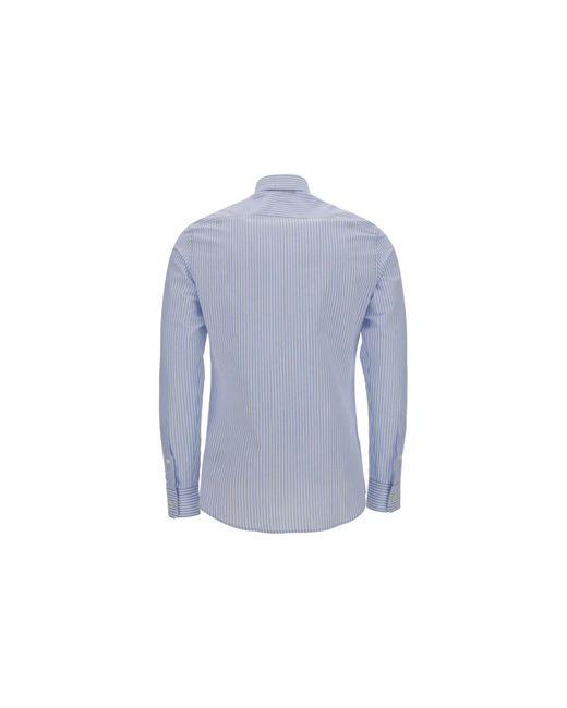 Z Zegna Blue Other Materials Shirt for men