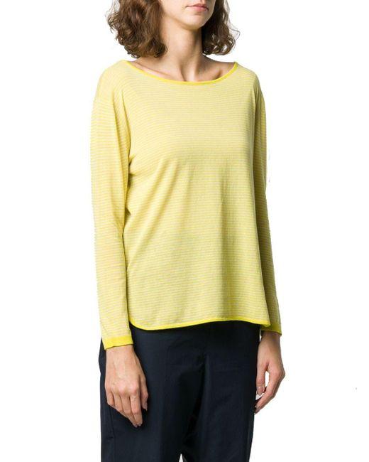Aspesi Yellow BAUMWOLLE SWEATER