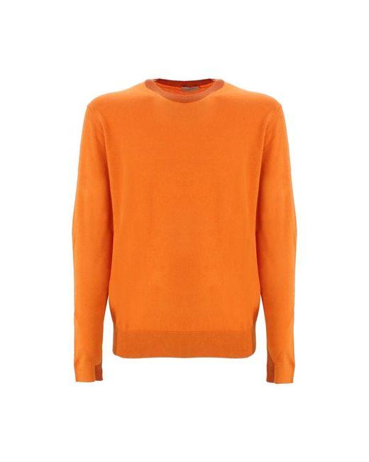 Etro Men's 1m5009906750 Orange Wool Sweater for men