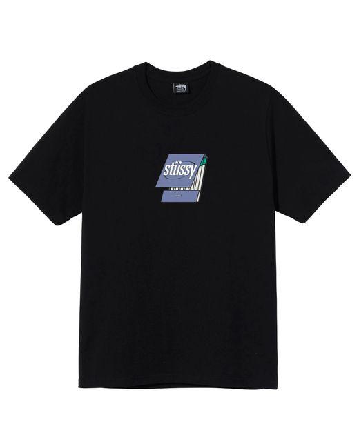 Stussy BAUMWOLLE T-SHIRT in Black für Herren