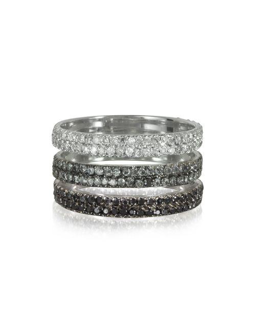 Bernard Delettrez - Metallic Silver Gold Ring - Lyst