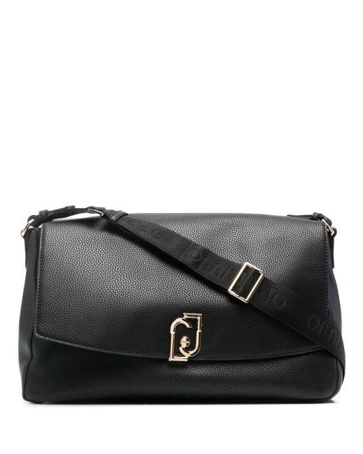 Liu Jo Black Luxury Fashion AA1141E002722222 Schwarz Kunstleder Tote | Ss21