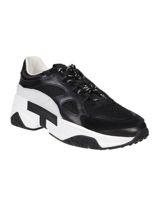 Tod's Zweifarbige Sneakers in Black für Herren