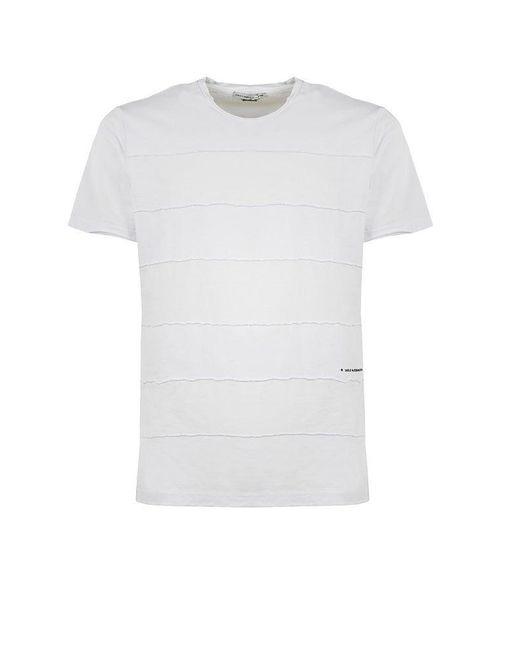 Daniele Alessandrini BAUMWOLLE T-SHIRT in White für Herren