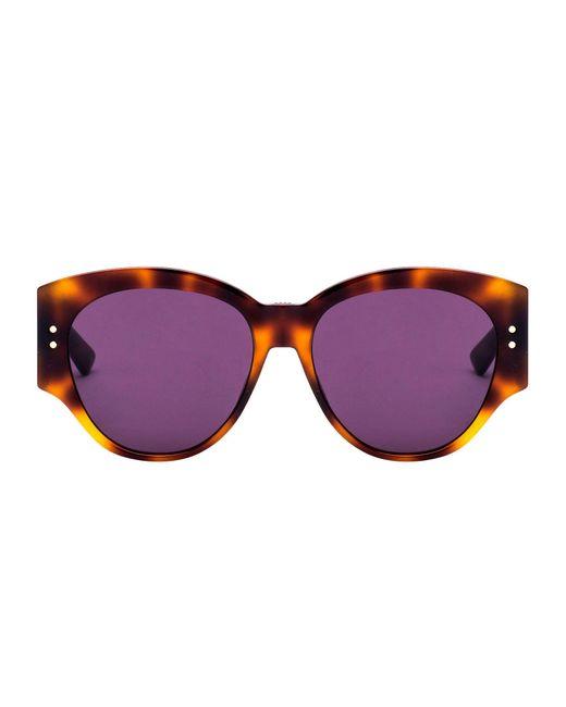 Dior Brown Acetate Sunglasses