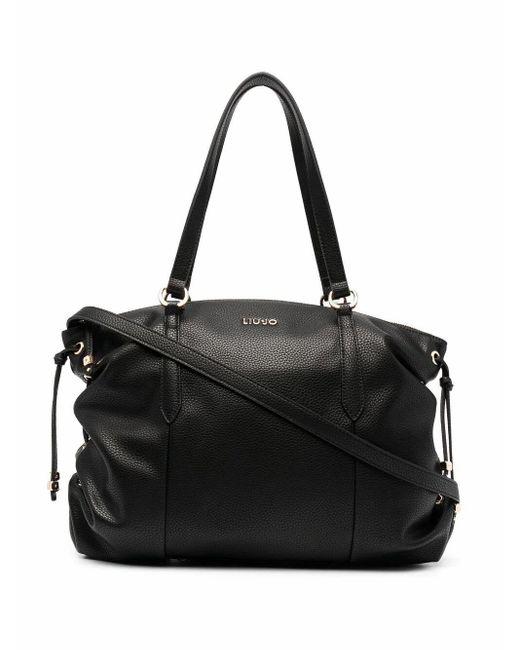 Liu Jo Black Handtasche mit Schnürung