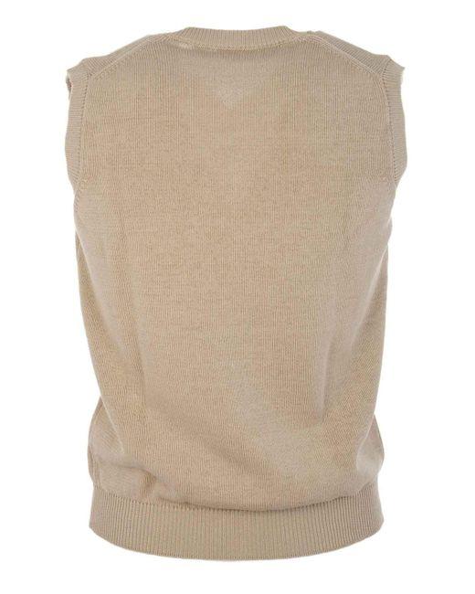 Altea White 175100831 Cotton Vest for men