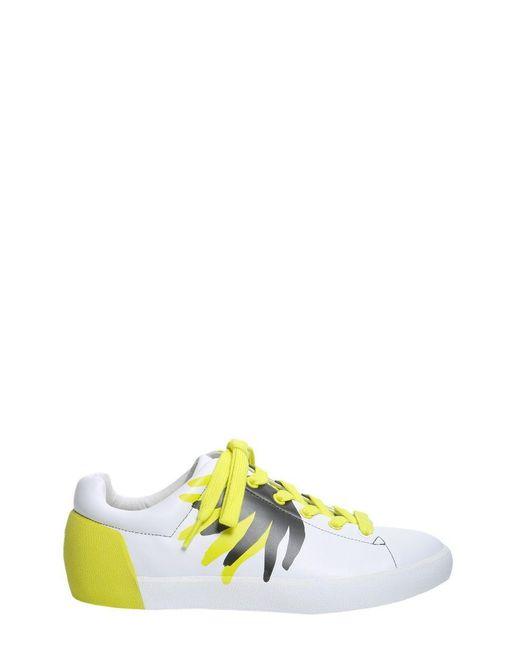 Ash LEDER SNEAKERS in Yellow für Herren