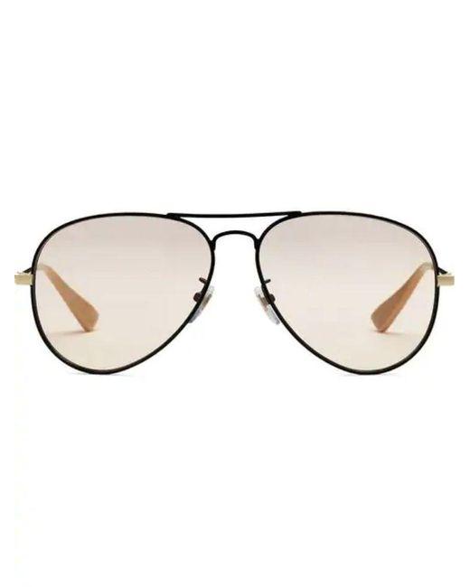Gucci Black Other Materials Sunglasses