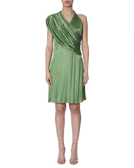 Lanvin Green Viscose Dress
