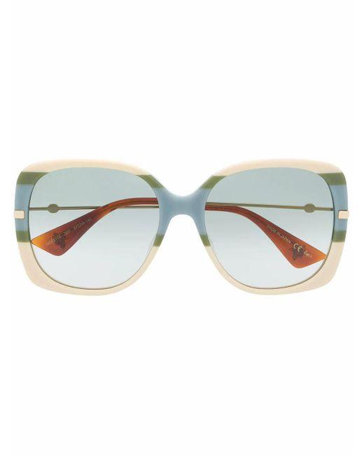 Gucci Multicolor Eckige Sonnenbrille