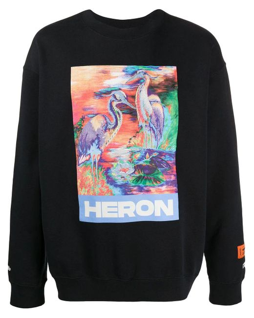 COTONE di Heron Preston in Black da Uomo