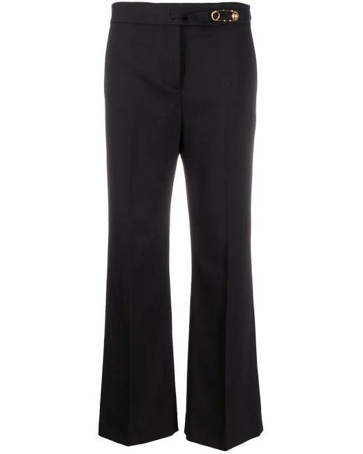 Versace Black Wool Pants
