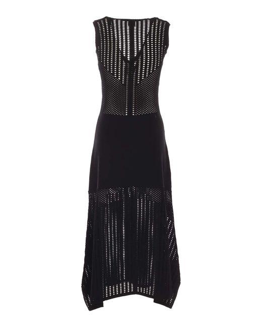 Pinko Black Viscose Dress