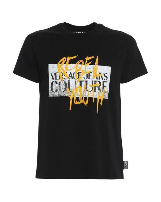 COTONE di Versace Jeans in Black da Uomo