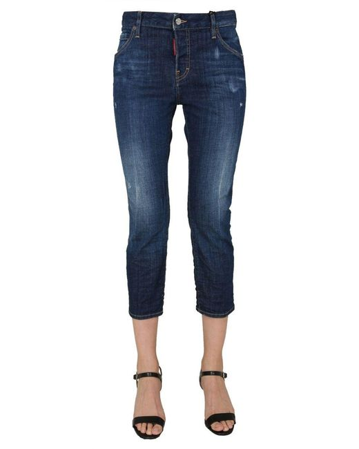 DSquared² Blue BAUMWOLLE JEANS