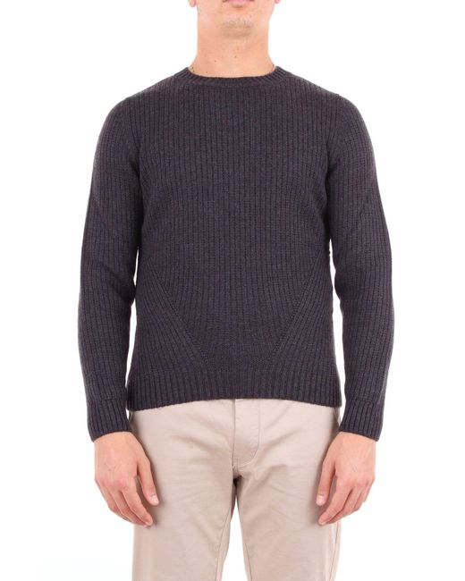 Heritage Gray Grey Wool Sweater for men