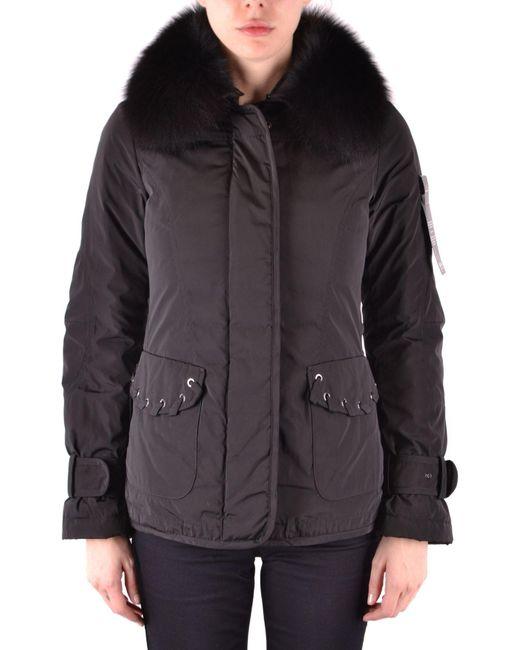 Peuterey Black Polyester Outerwear Jacket