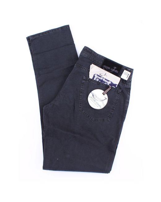 Jacob Cohen 622 modellhose in schwarz in Black für Herren