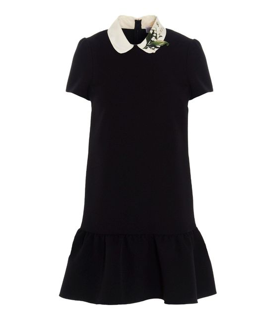 RED Valentino Black Other Materials Dress