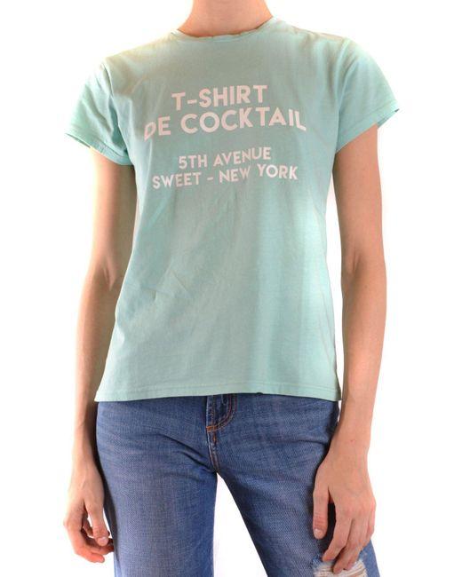 Sweet Matilda Green Cotton T-shirt