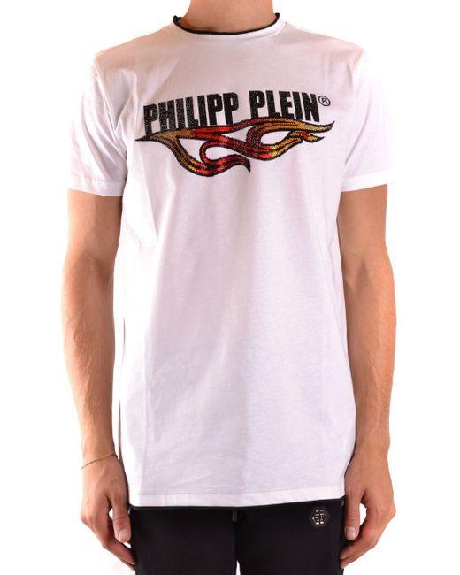 COTONE di Philipp Plein in White da Uomo