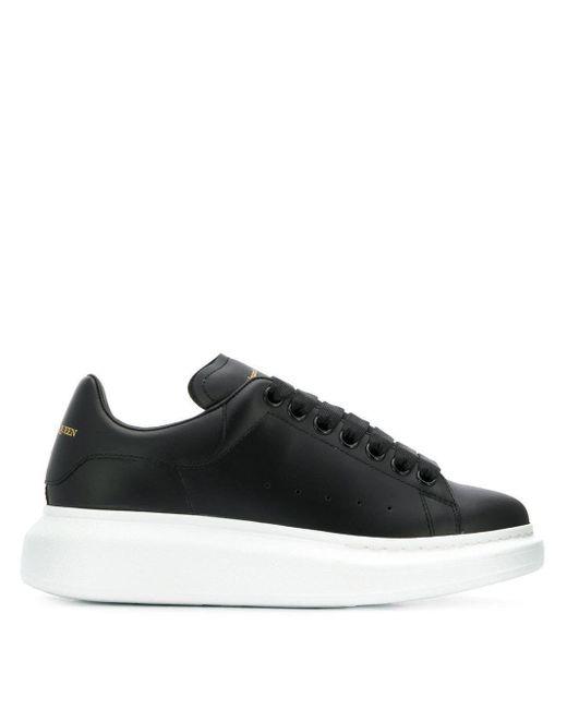 Alexander McQueen Black Sneakers
