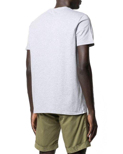 Etro T-Shirt mit Logo-Print in Gray für Herren