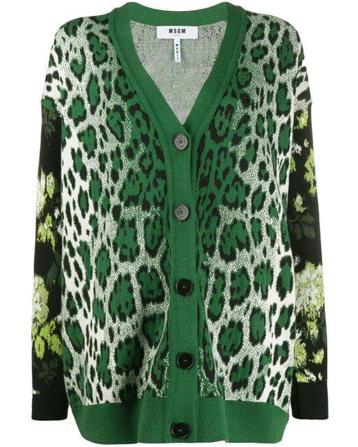 Maglione Donna di MSGM in Green