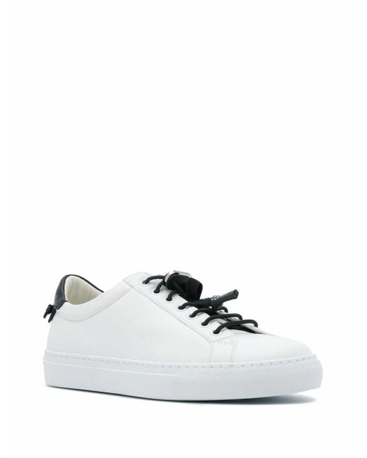 Givenchy White LEDER SNEAKERS