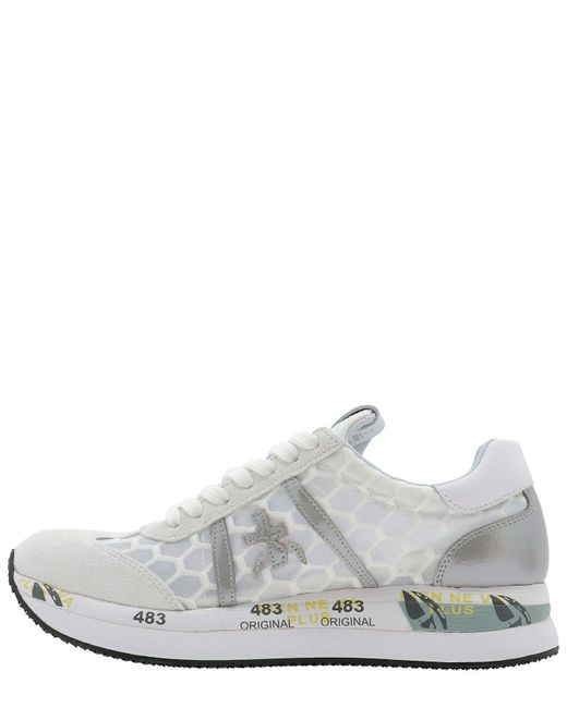Premiata Gray Other Materials Sneakers