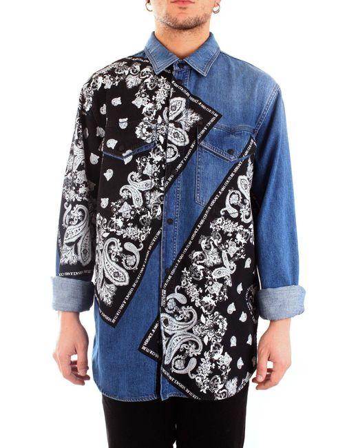 COTONE di Versace Jeans in Blue da Uomo