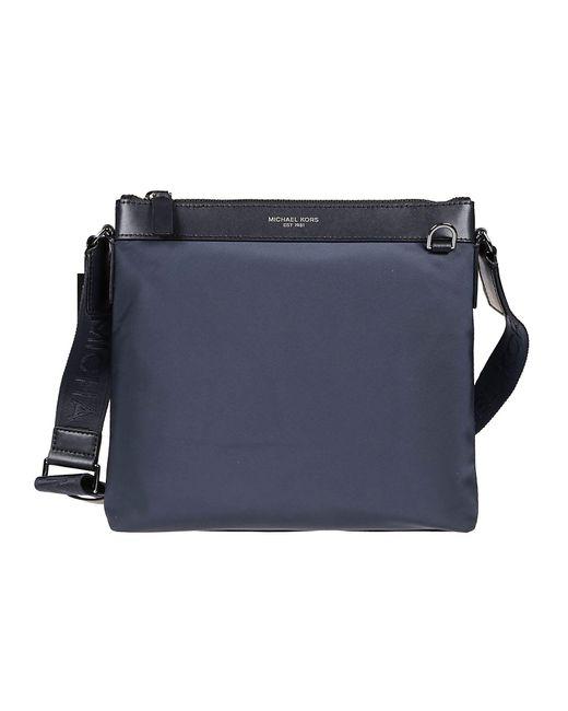 Michael Kors Blue Nylon Messenger Bag for men