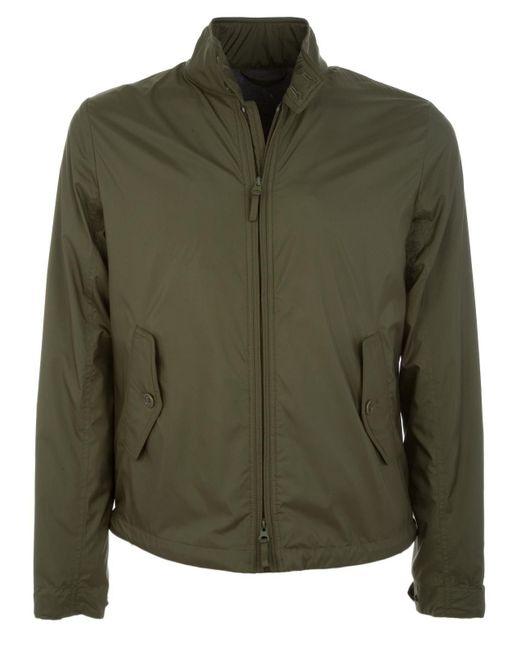 Aspesi Green Polyester Outerwear Jacket for men