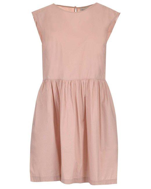 Woolrich Women's Wwdr0068frut1509489 Pink Other Materials Dress
