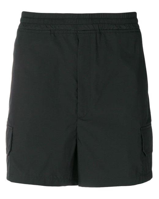 Neil Barrett Black Cotton Shorts for men