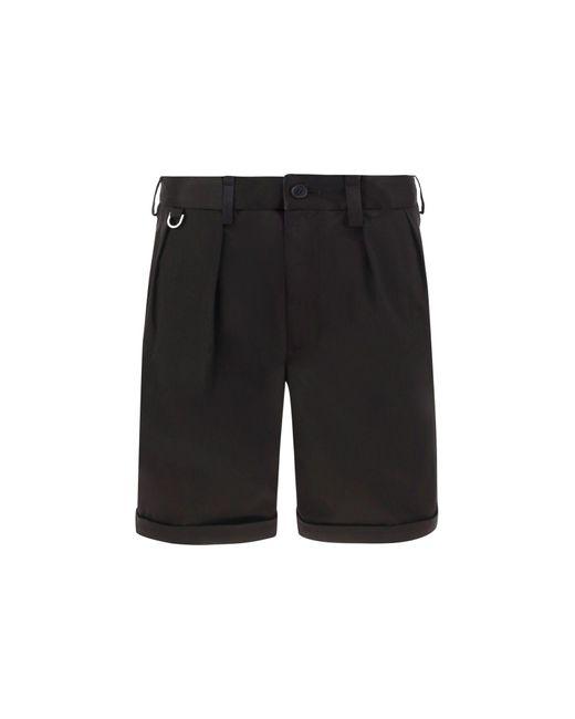 Neil Barrett Black Other Materials Shorts for men