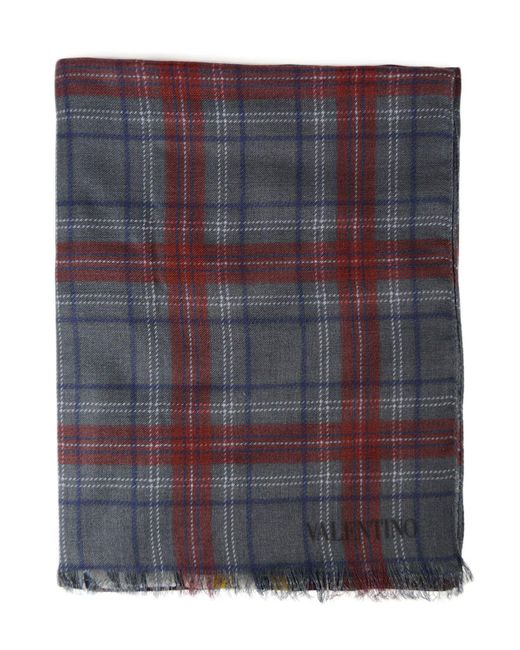 Valentino Multicolor Wool Scarf for men