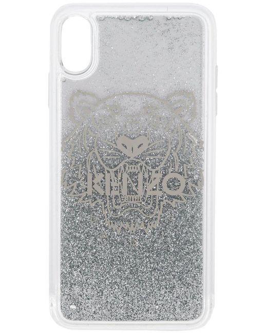 KENZO Metallic Silver Pvc Cover