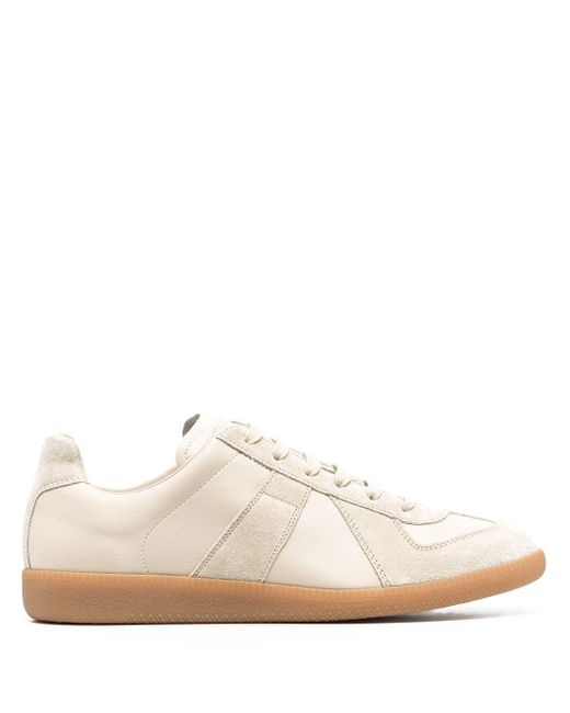 Maison Margiela Natural Leather Sneakers for men