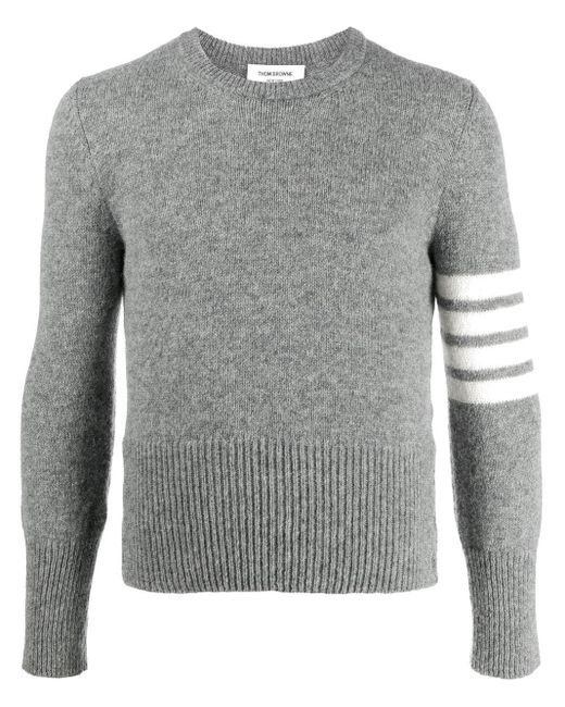 Thom Browne Gray Sweater for men