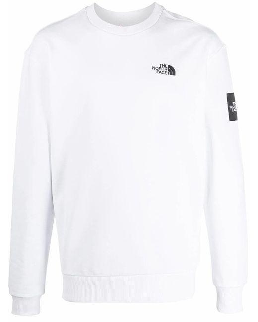 The North Face BAUMWOLLE SWEATSHIRT in White für Herren
