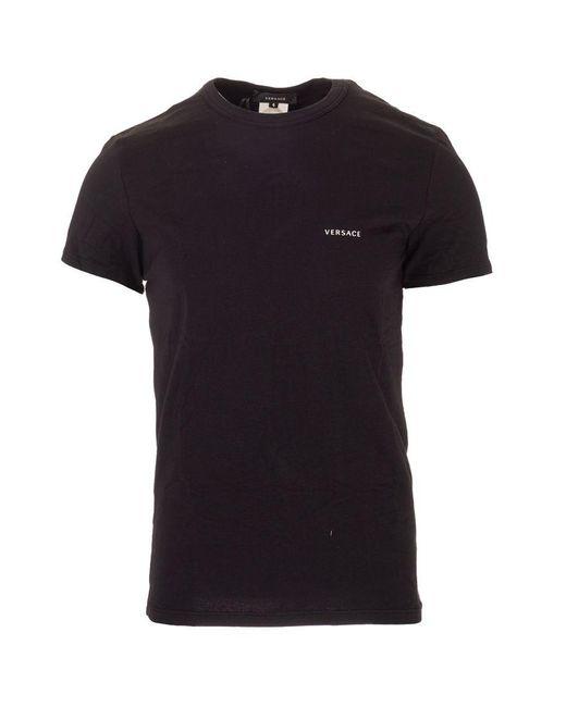Versace ANDERE MATERIALIEN T-SHIRT in Black für Herren