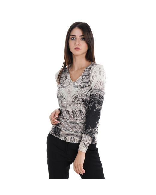 Etro Gray SWEATER