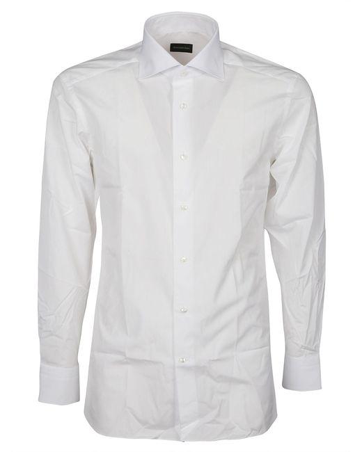 Ermenegildo Zegna ANDERE MATERIALIEN HEMD in White für Herren