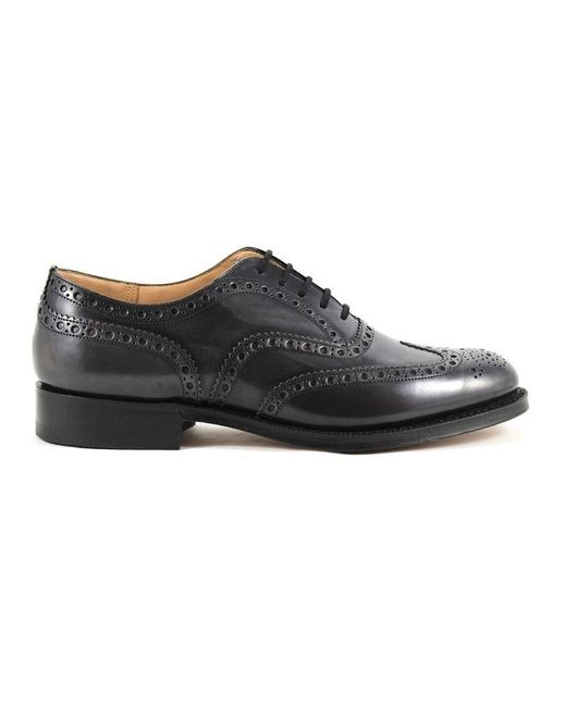 Church's Gray Men's Grey Leather Lace-up Shoes for men