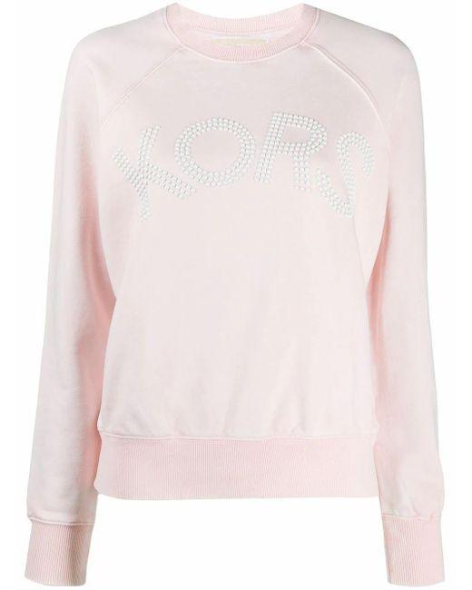Michael Kors Pink Sweatshirt