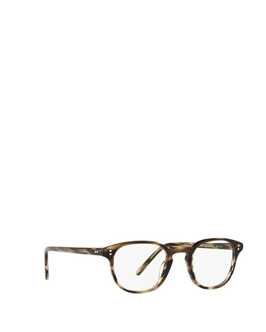 Oliver Peoples Brown Acetate Glasses