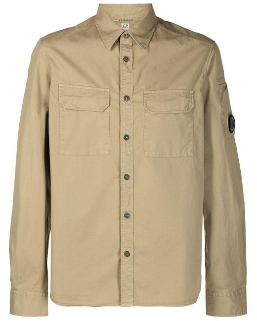 C P Company Natural Cotton Shirt for men