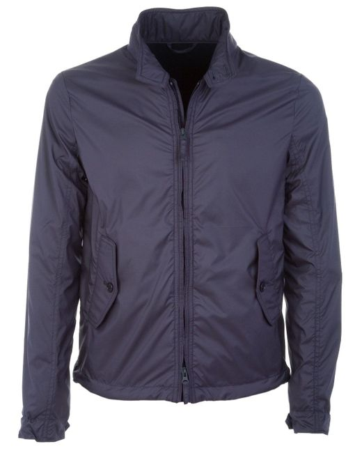 Aspesi Blue Polyester Outerwear Jacket for men